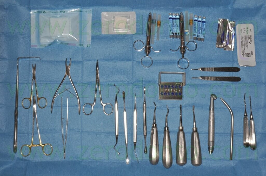 4 surgical instrumentation impacted wisdom tooth