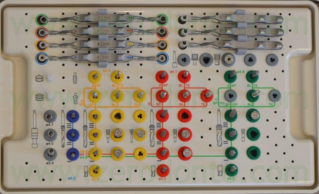 - (148)kit implantologia guidata straumann